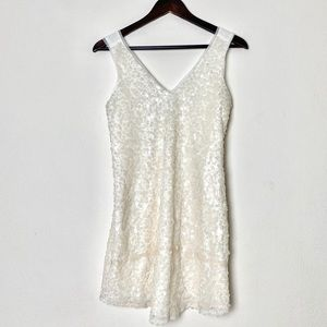 BCbGeneration white sequined top size 0